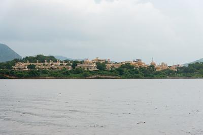 Udaipur from Lake Pichola, Udaipur, RJ, India.