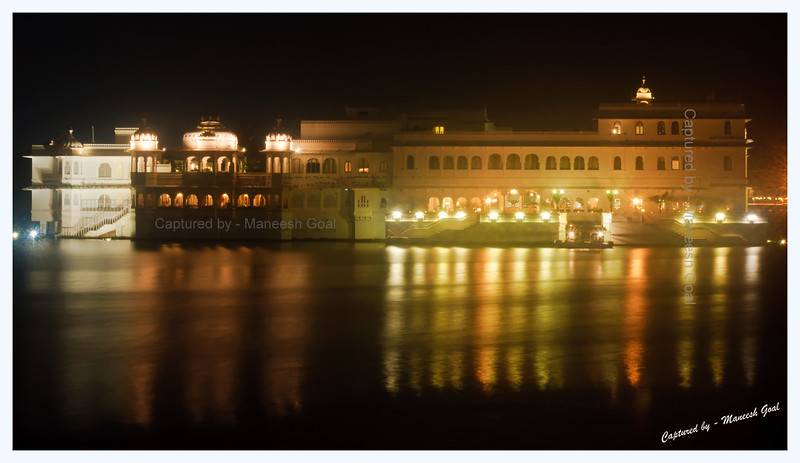 Lake Palace (Heritage Hotel Run By Taj Group) in Lake Pichola, Udaipur