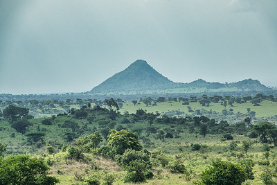 A view of Kidepo Valley National Park from my tent.
