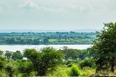 A view of the Albert Nile from my lodge in Murchison Falls National Park