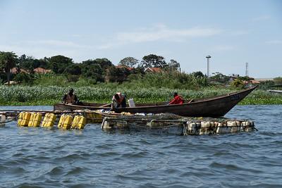 Fisherman on the Nile at Jinja