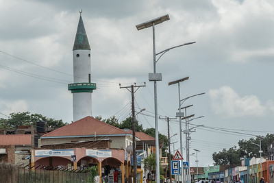 I saw many mosques when I was in Uganda.   Ugandan followers of Islam make up approximately 14% of the populations.  Idi Amin was a Moslem.