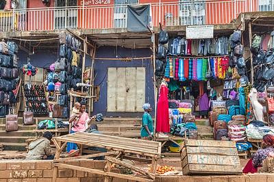 Kampala in the morning