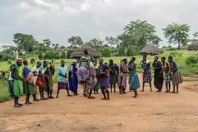 The Karamojong are related to the Maasi and do jump dancing as part of their culture.