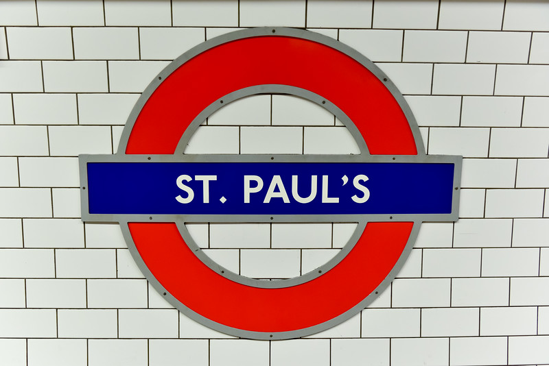 Saint Paul's Underground Station - London