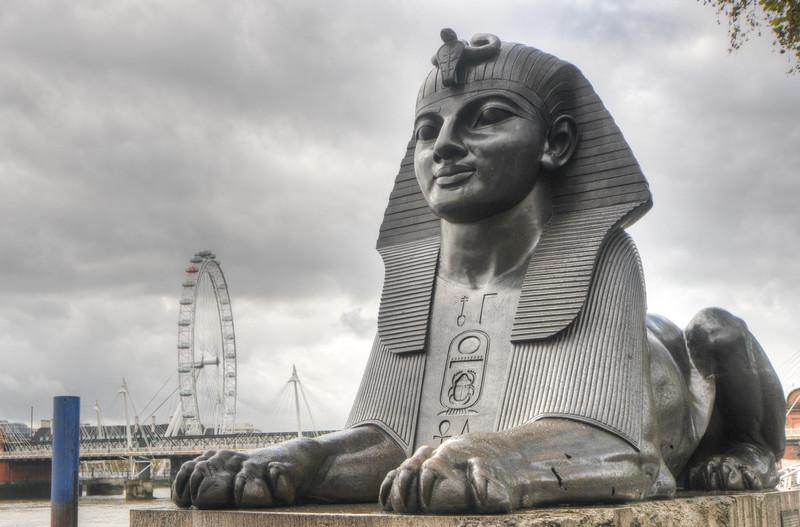 Cleopatra's Needle, London, UK