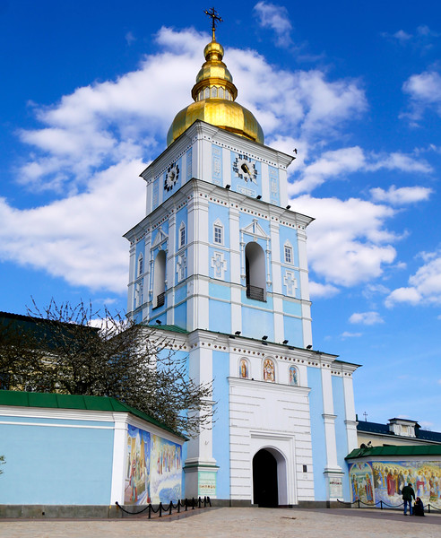 "Ukraine-2017. Kiev.  St. Michael's golden-domed monastery.<br /> <a href=""https://en.wikipedia.org/wiki/St._Michael%27s_Golden-Domed_Monastery"">https://en.wikipedia.org/wiki/St._Michael%27s_Golden-Domed_Monastery</a><br /> <a href=""http://www.visitkievukraine.com/sights/st-michaels-monastery/"">http://www.visitkievukraine.com/sights/st-michaels-monastery/</a>"