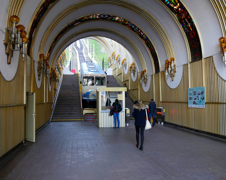 "Ukraine-2017.  Kiev.  Taking the Funicular back down the hill.  <br /> <a href=""https://en.wikipedia.org/wiki/Kiev_Funicular"">https://en.wikipedia.org/wiki/Kiev_Funicular</a><br /> <a href=""http://www.visitkievukraine.com/businesses/funicular/"">http://www.visitkievukraine.com/businesses/funicular/</a>"