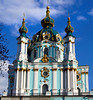 "Ukraine-2017.  Kiev.  St. Andrew's Church,  next to St. Michael's Monastery.  <br /> <a href=""http://www.visitkievukraine.com/sights/st-andrews-church/"">http://www.visitkievukraine.com/sights/st-andrews-church/</a>"