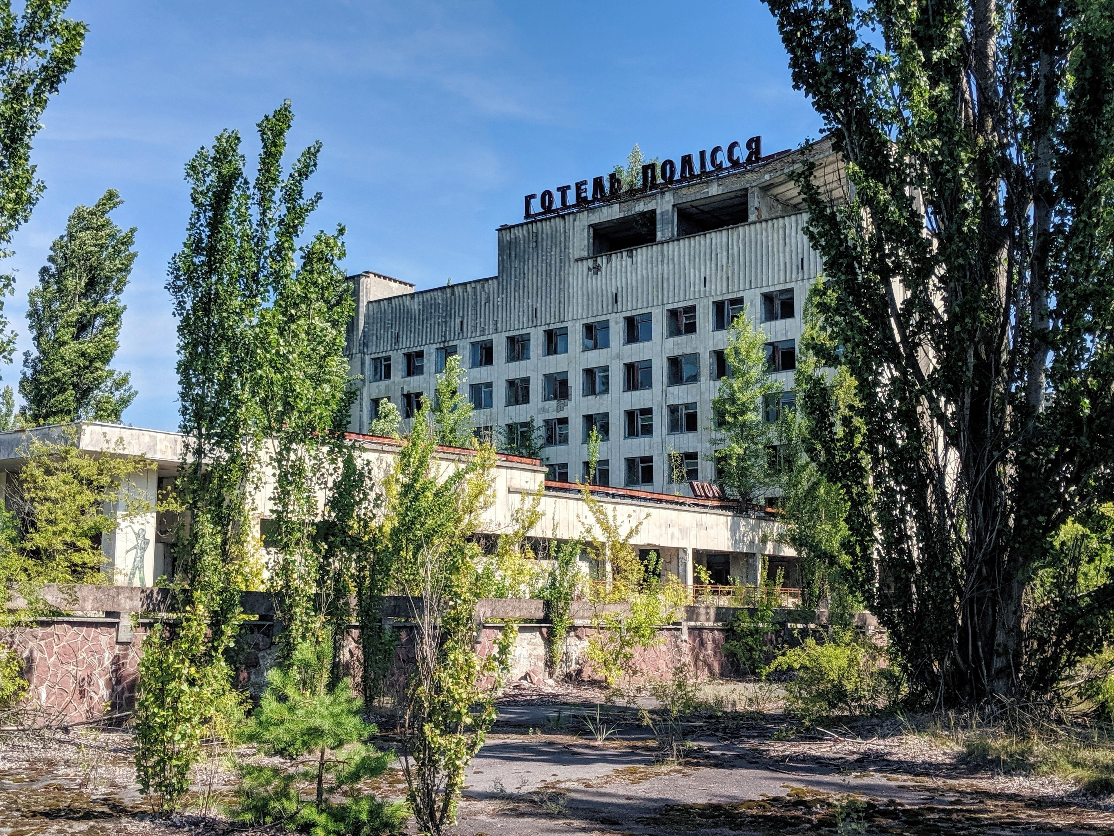 Chernobyl photos - hotel