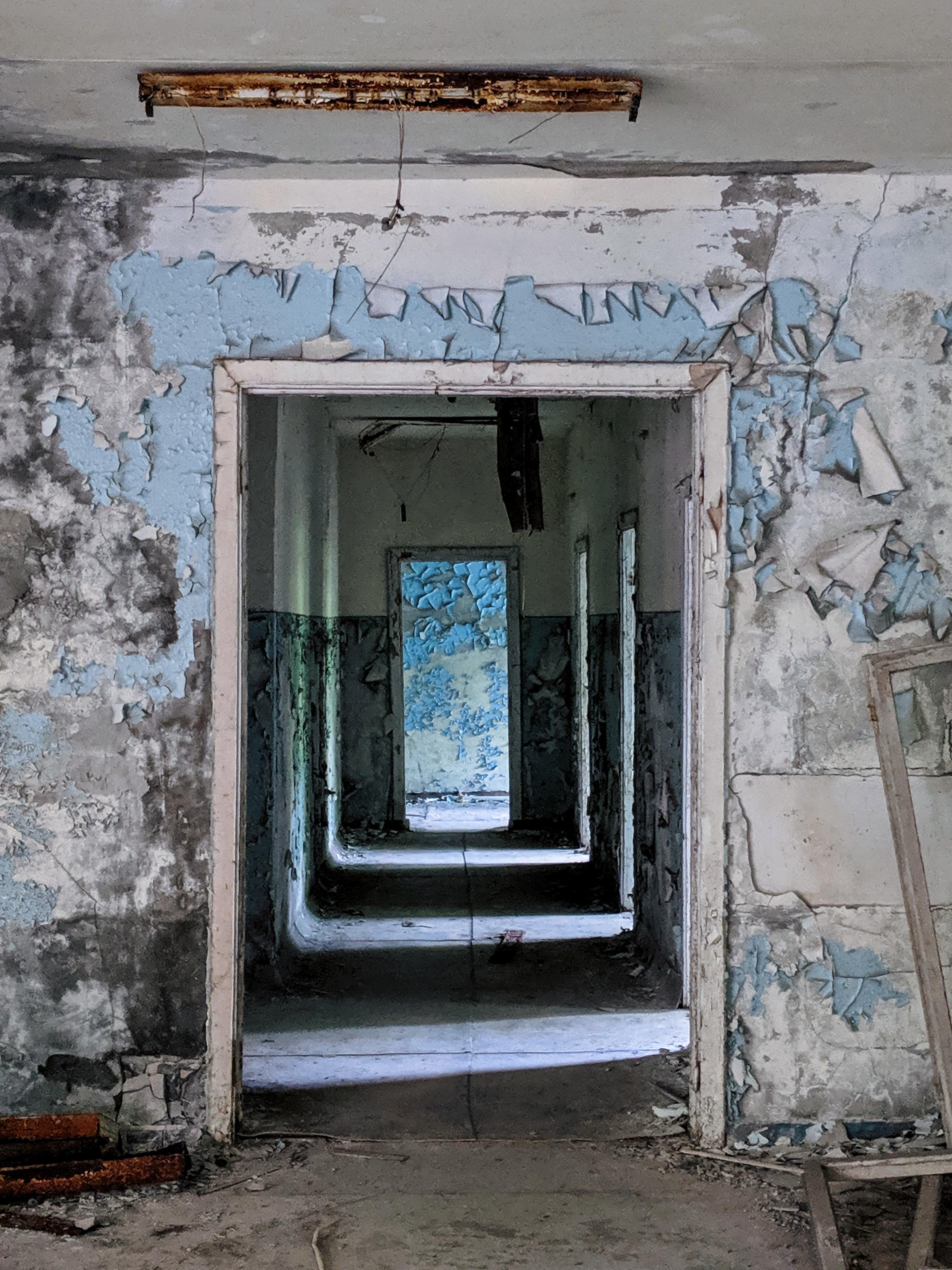 Eerie hallway