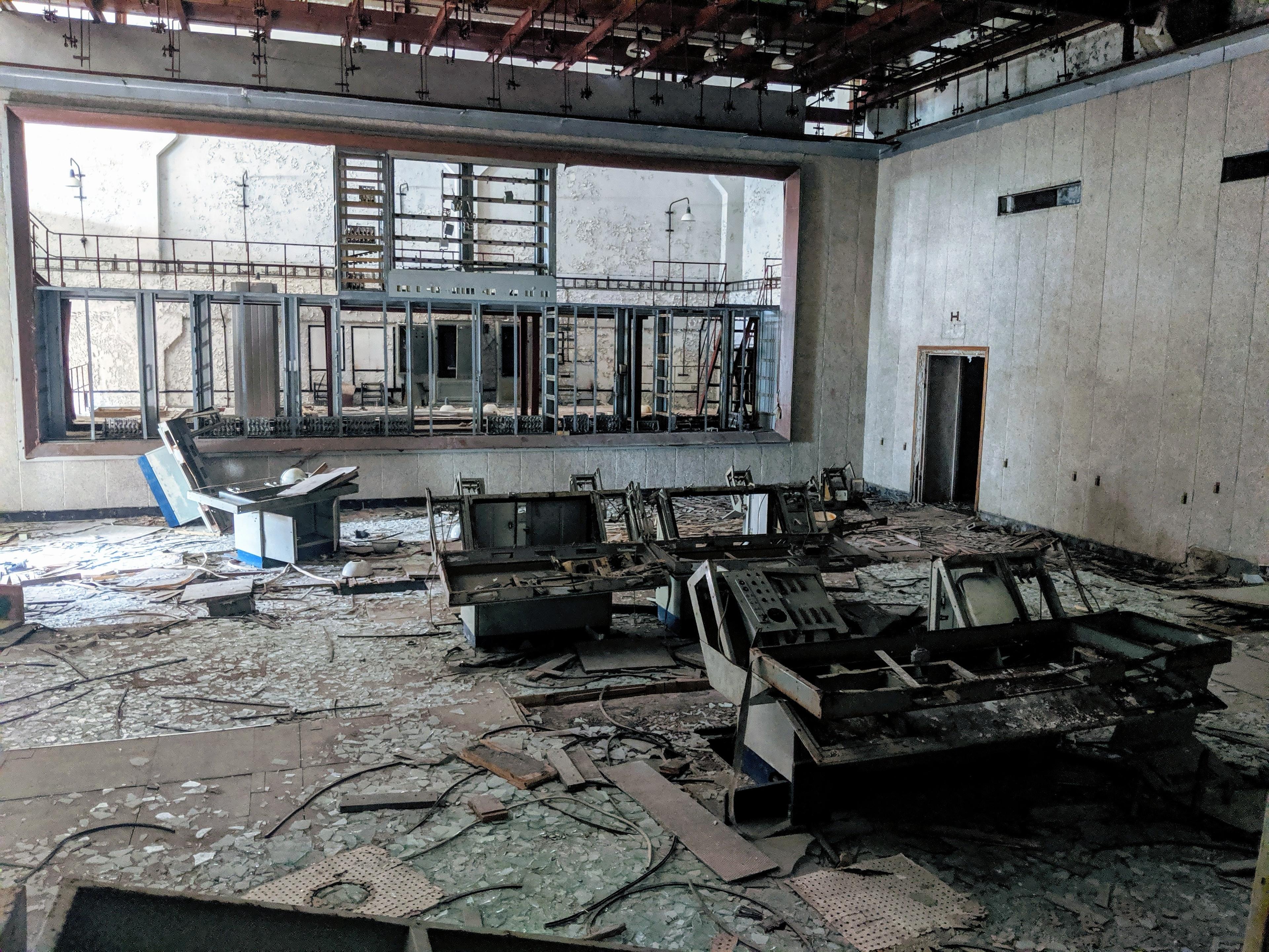 Chernobyl trip - control center