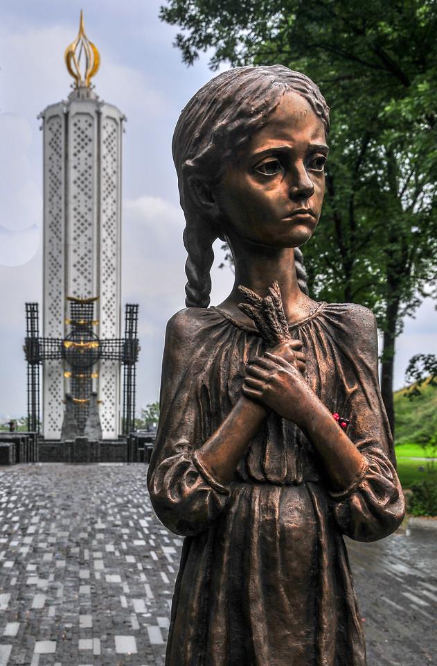 Holodomor Victims Memorial - Kiev, Ukraine