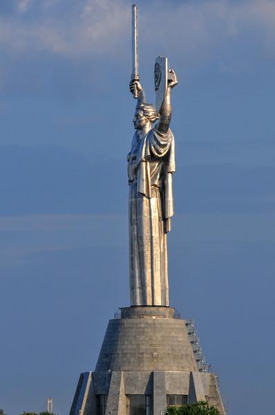 Motherland monument - Kiev, Ukraine