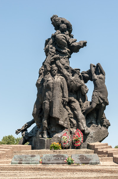 Babi Yar Monument in Kiev