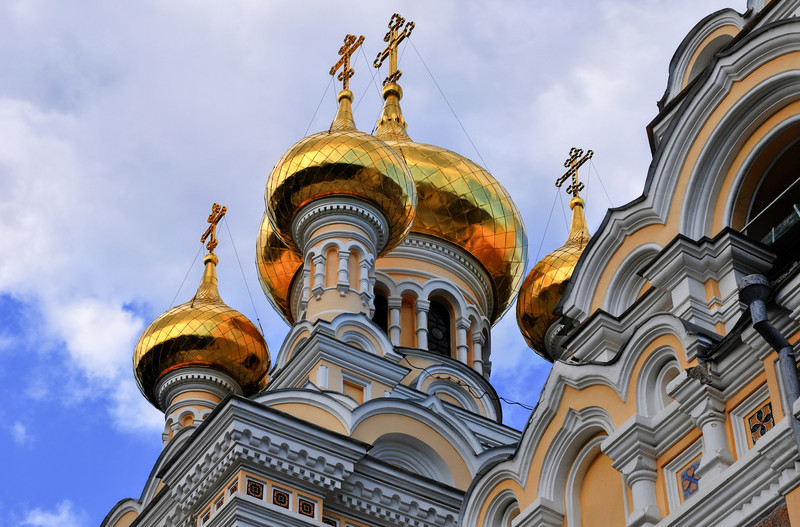 Gold Onion Domes