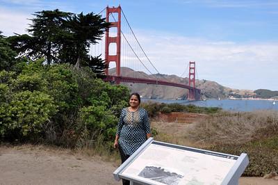 Uma's visit San Fran and Vegas