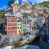 Riomaggiore village where the waves were pounding and prevented our going there by boat on Tuesday, May 24, 2016.  Instead, we took the public bus to La Spezzia then took the train to Riomaggiore.