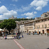 Piazza Santa Chiara, Assisi Italy