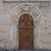 Door of Church of S. Michele Arcangelo in Bevagna.