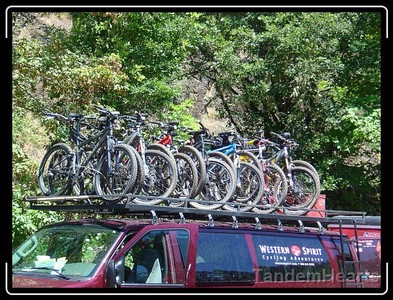 This is how you move up to 15 bikes at a time.