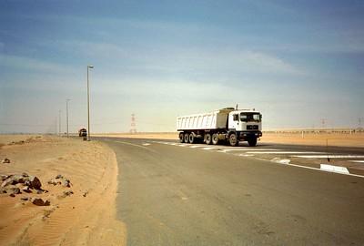 Abu Dhabi - Al Ain  Truck Road