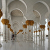 Sheikh Zayed Grand Mosque: colonnade.
