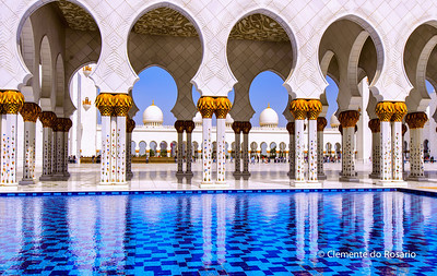 Grand Mosque, Abu Dhabi, UAE