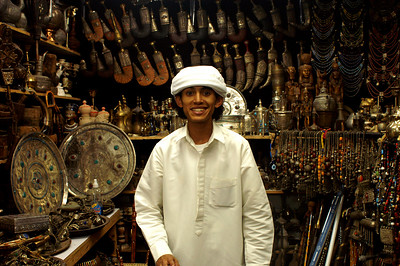 A Yemeni merchant who will start his studies in Berlin next year...