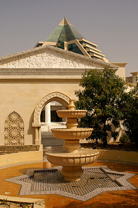Wafi Mall - build in egyptian/greek/maroccan style