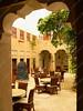 UAE - Dubai - Bastakiyya - XVA - courtyard