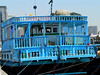 UAE - Dubai - Khor Dubai - blue boat for Iran
