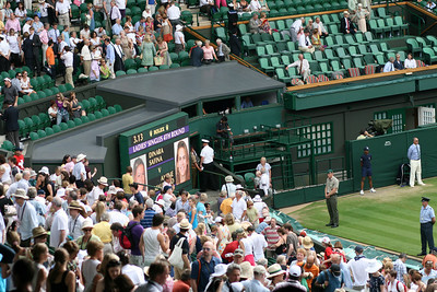 Safina v Mauresmo - Ladies 4th Round Wimbledon (June 2009)