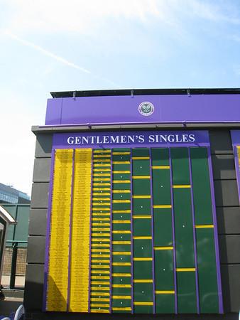 Wimbledon Tennis Championships - Round 4 (June 2009)