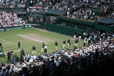 Wimbledon Men's Final (Nadal v Berdych) - July 2010