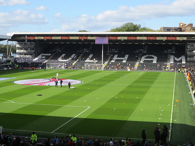 Fulham v Manchester City - Craven Cottage (October 2012)