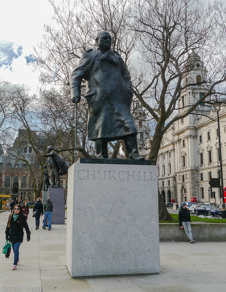 Winston Churchill, Parliament Square
