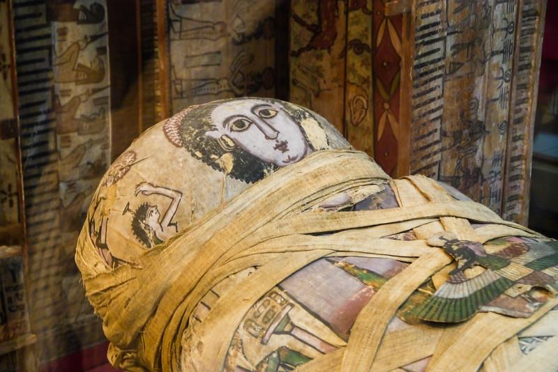 Mummy of Cleopatra, Egypt, British Museum