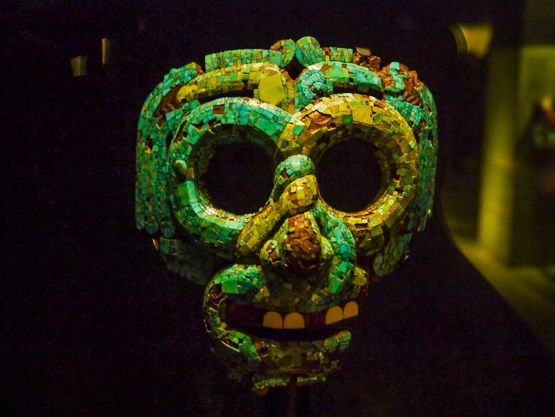 Mosaic Mask of Quetzalcoatl, Mexico, British Museum