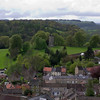 View from Richmond Castle