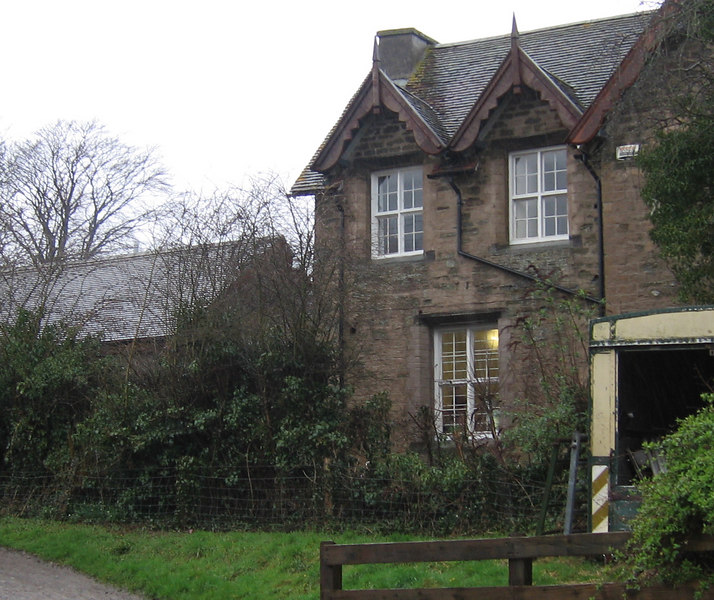 A house in the village of Leintwardine, Shropshire