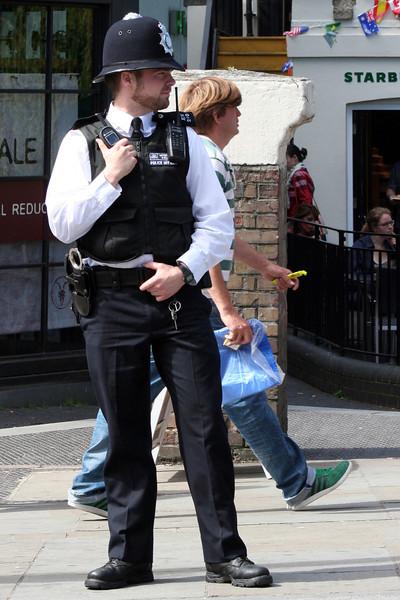Camden High Street Bobby: 'ello, 'ello, 'ello! Wot 'ave we 'ere?!