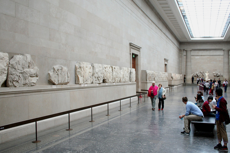 The British Museum: Parthenon Marbles Gallery.