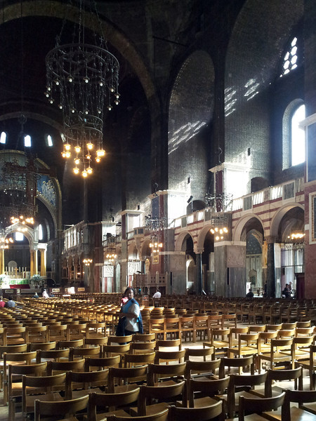 Nave of Westminster Cathedral.