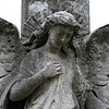 Brompton Cemetery: angel monument.