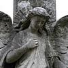 Brompton Cemetery: angel monument.