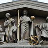 British Museum pediment detail.