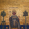Saint Oswald: Westminster Cathedral mosaic.