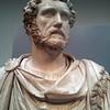 British Museum: bust of Roman Emperor Antoninus Pius.