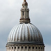 Dome of St Paul's Cathedral; view from south of the Thames.